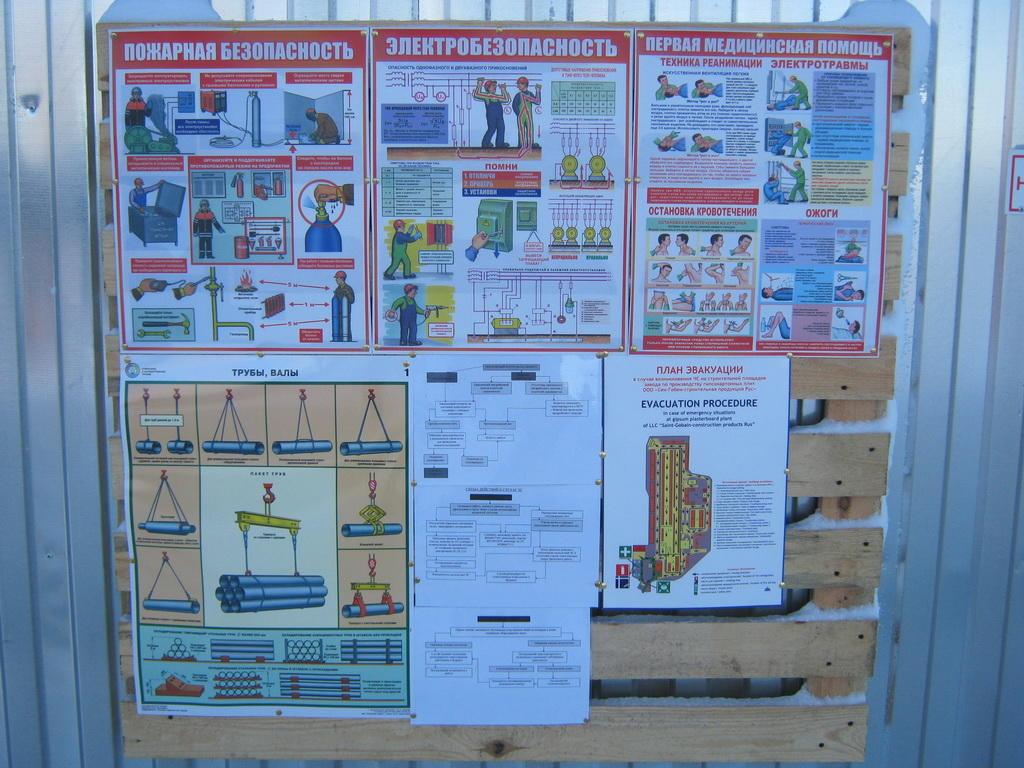 Информационные щиты
