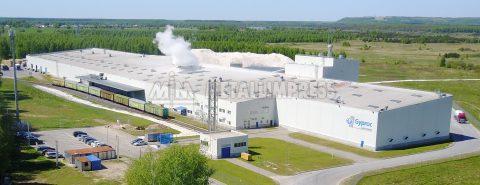 Завод по производству гипсокартонных плит Saint‑Gobain, Гомзово