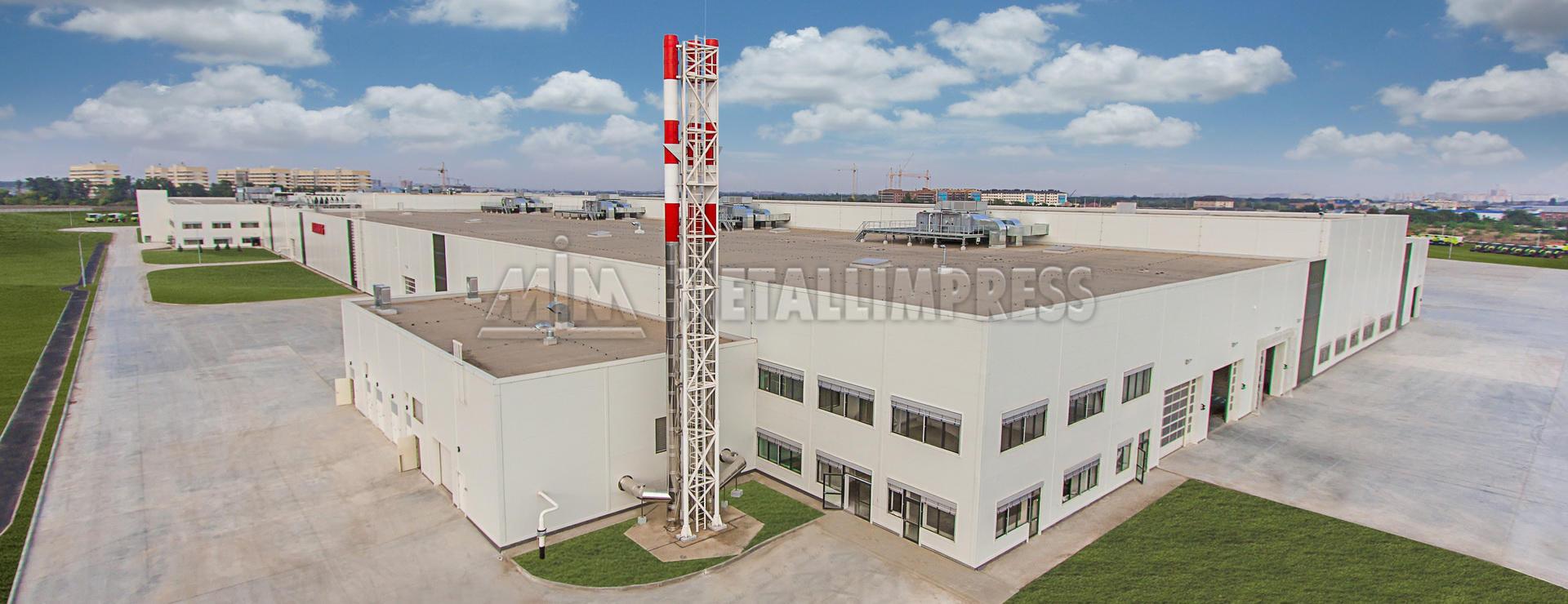 Завод по производству сельскохозяйственной техники КЛААС