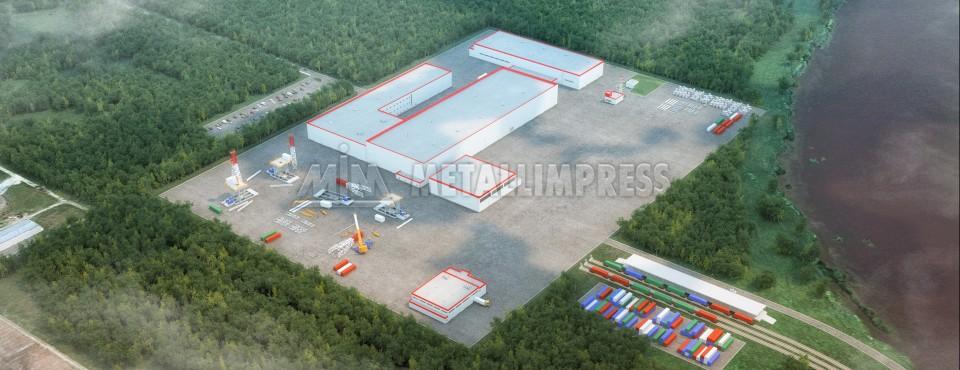 Завод по производству буровых установок НОВ Кострома