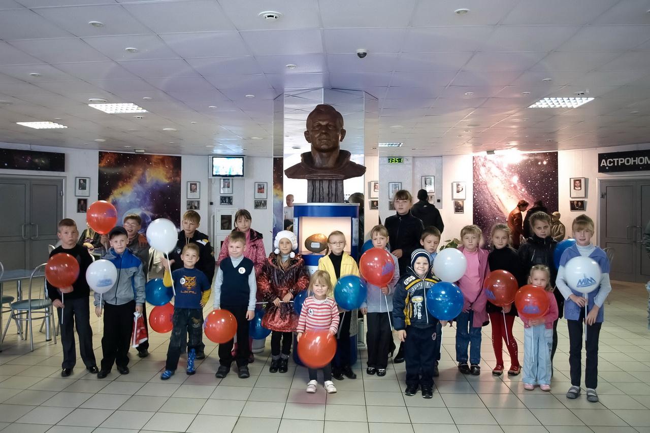 Экскурсия в Нижегородский планетарий для победителей конкурса детского рисунка