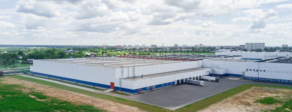 Складской комплекс для хранения готовой продукции ТМ «Роллтон»