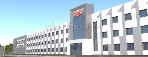 Производственный комплекс по изготовлению замороженных полуфабрикатов Элика