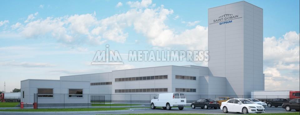Завод по производству сухих строительных смесей Saint‑Gobain, Егорьевск